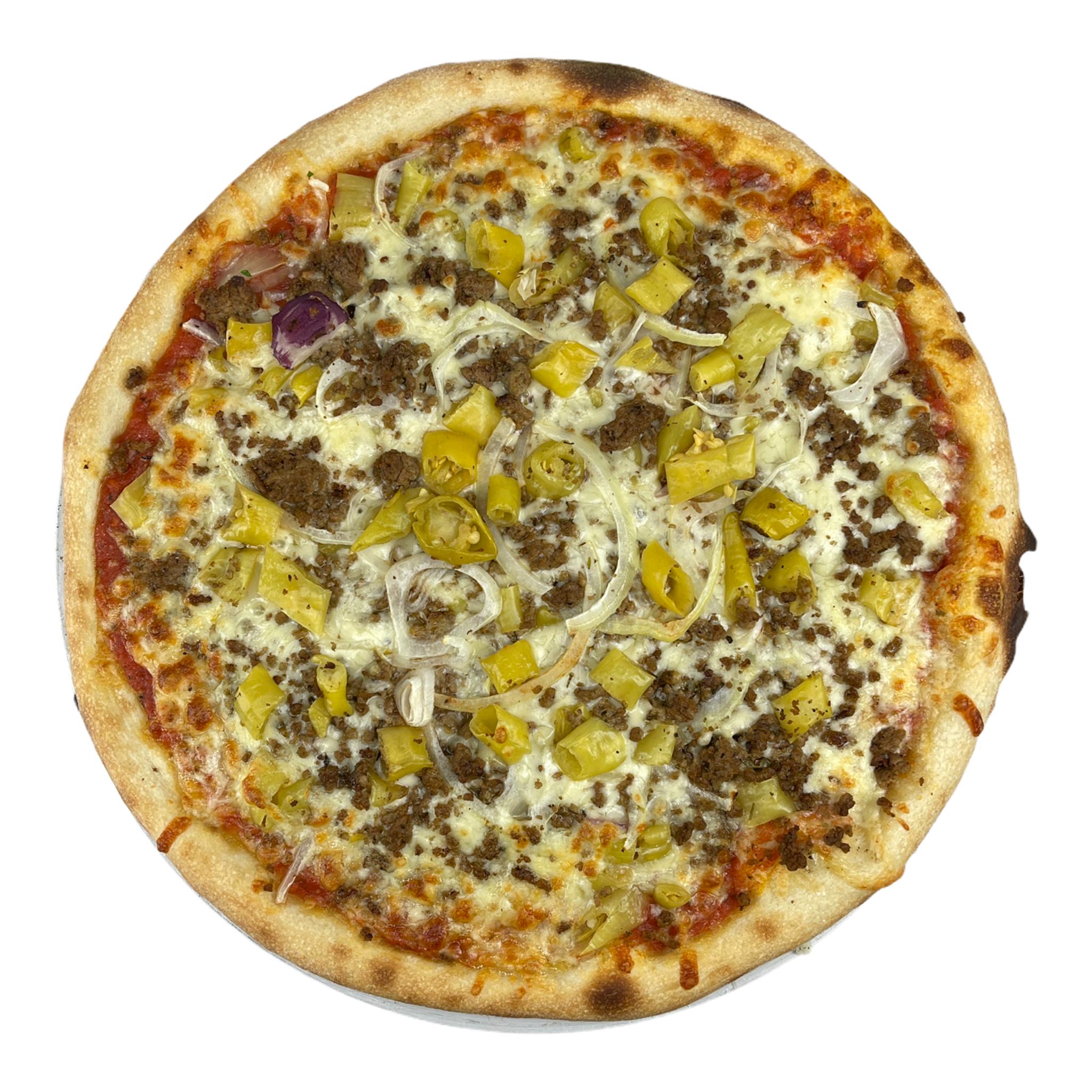Pizza Rinderhackfleisch